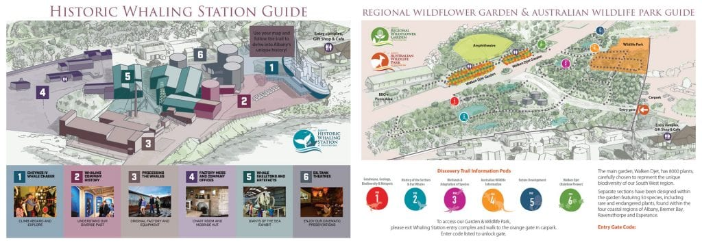 Albany Historic Whaling Station Maps
